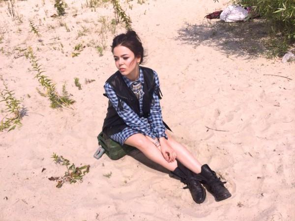 Алина Гросу сняла клип на песню Тормоза
