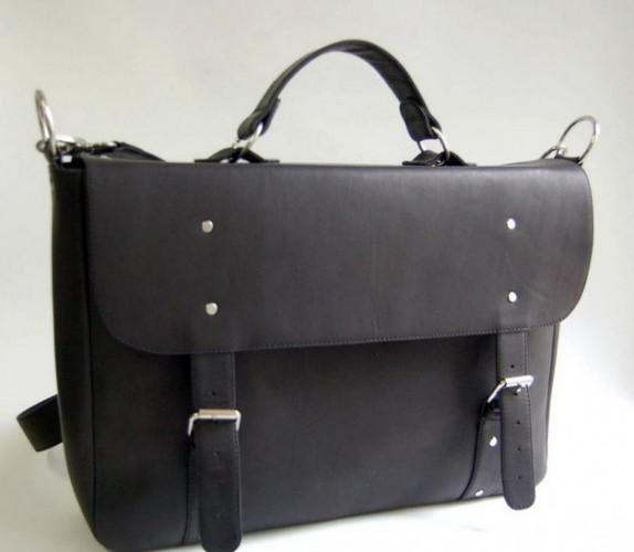 Кожаная сумка, Kachorovska atelier, стоимость – около 1150 грн