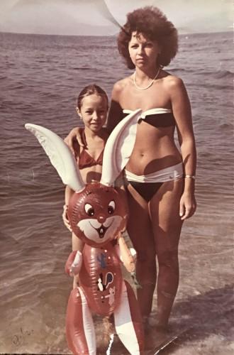 Екатерина Кухар с мамой