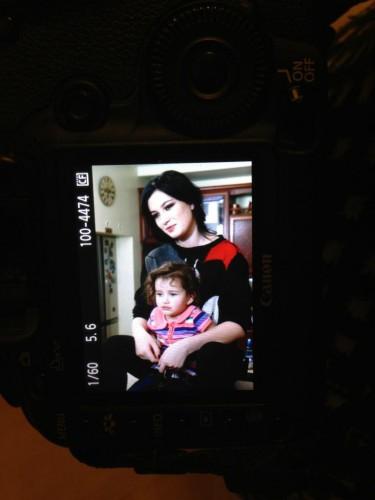 Анастасия Приходько снялась в фотосессии вместе с дочкой