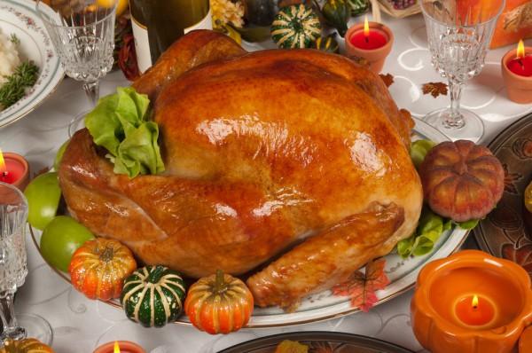 Запеченная индейка на День благодарения