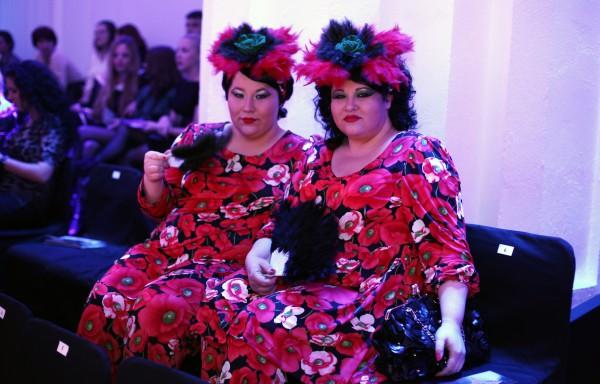 Самые яркие модницы на Украинской Неделе Моды