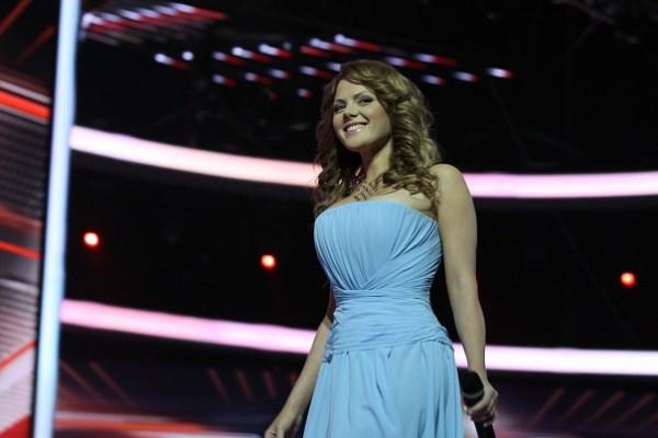 Участница первого сезона популярного вокального шоу Х-фактор Мария Рак