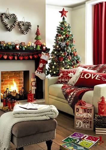 Как оригинально украсить комнату на новый год