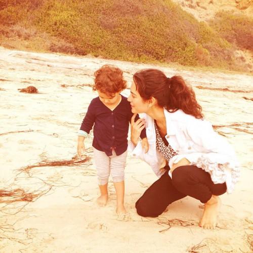 Жена Брюса Уиллиса с дочкой instagram.com/emmahemingwillis