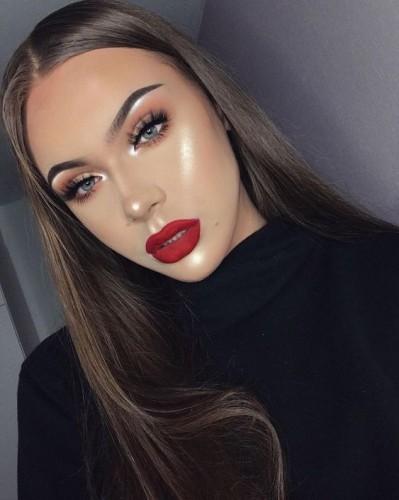Новогодний макияж 2019