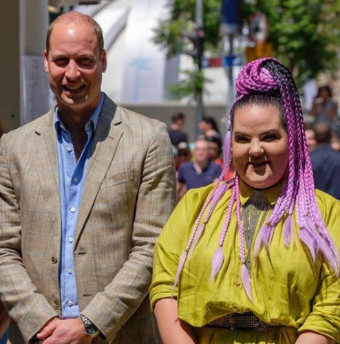 Принц Уильям и Нетта Барзилай