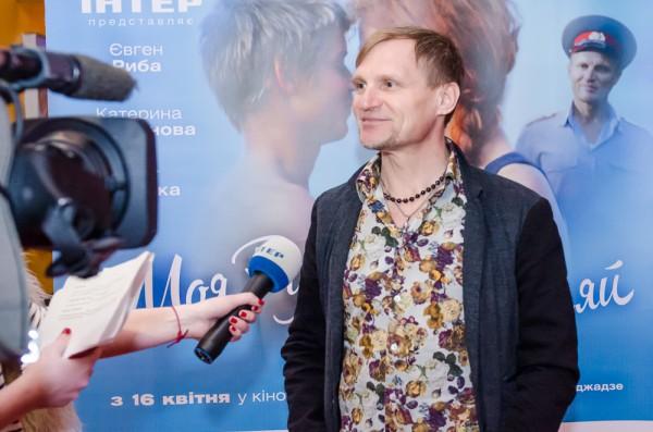 Олег Скрипка на премьере Моя Русалка, моя Лореляй