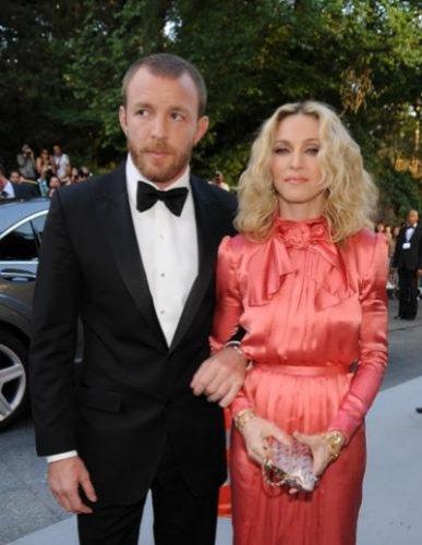 Мадонна и ее второгой супруг, режиссер Гай Ричи