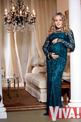 Беременная певица Alyosha