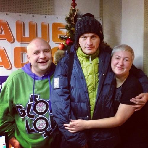 Сергей Галибин, Кузьма Скрябин и Анна Свиридова