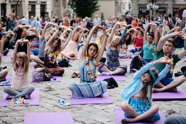 Фестиваль йоги фото