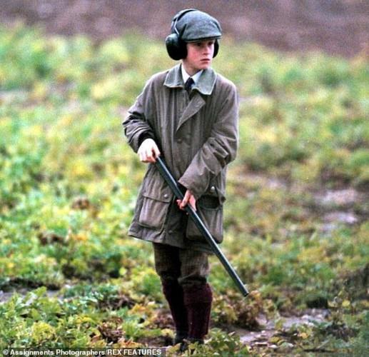 Принц Гарри занимается охотой с 1990 года