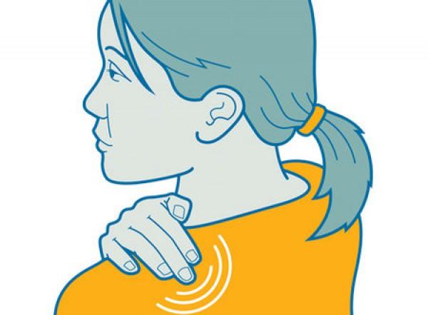 Как облегчить боль в шее
