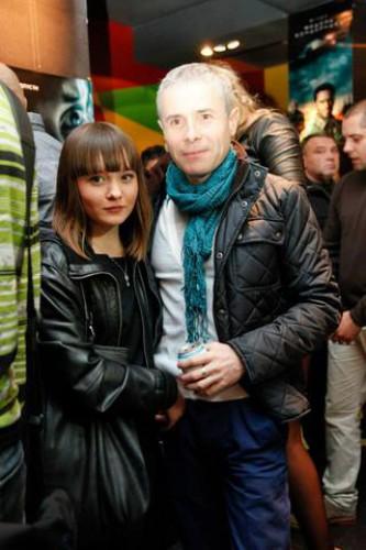 Константин Грубич с дочкой Ольгой