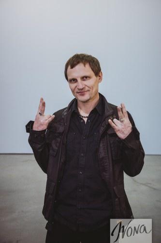 Олег Скрипка посетил украинскую Неделю моды
