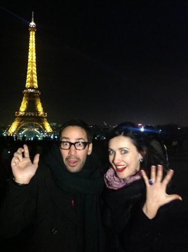 Соломия Витвицкая и Роман Баян в Париже