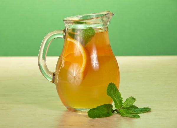 Рецепт                  Кисель из апельсинов и злаков