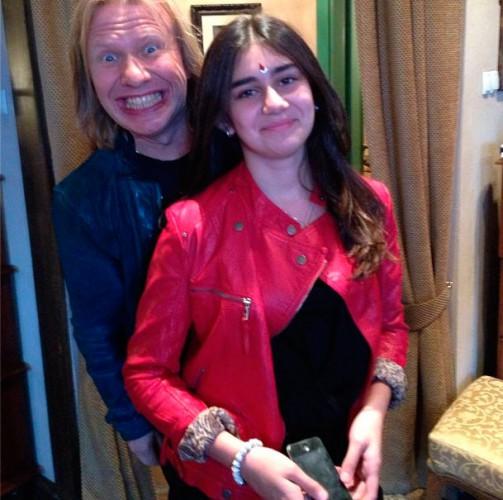 Иосиф Пригожин засветил собственную незаконнорожденную дочь (фото)