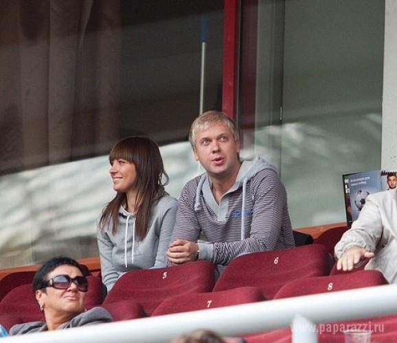 Сергей Светлаков с новой возлюбленной