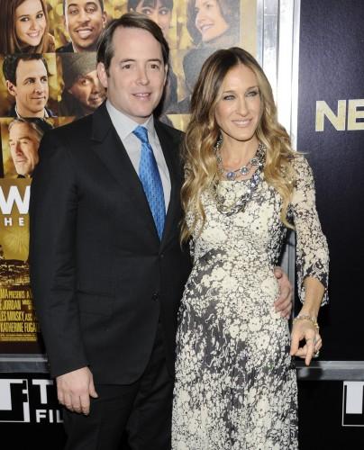 Сара Джессика Паркер с мужем Мэттью Бродериком