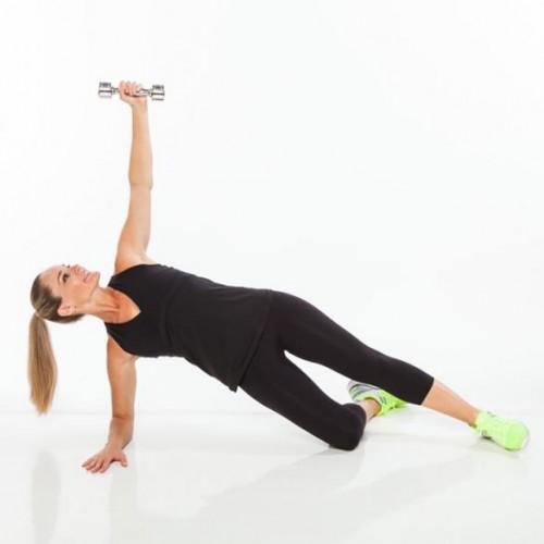 Упражнение для осиной талии: Исходное положение