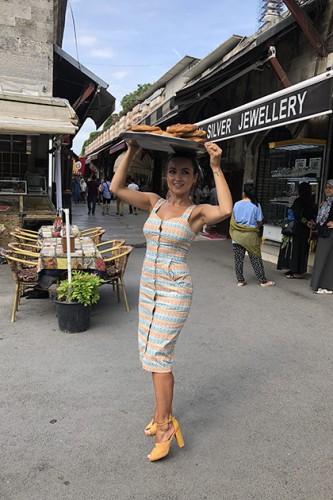 Аня Олицкая в Стамбуле