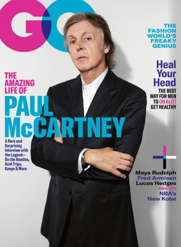 Пол Маккартни на обложке GQ