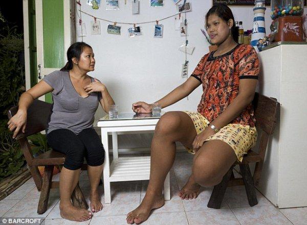 Мали принимает лекарства каждые три месяца, чтобы не вырасти еще выше