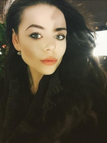 Украинская певица Алина Гросу