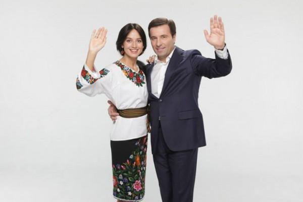 Со второй женой, Валерией