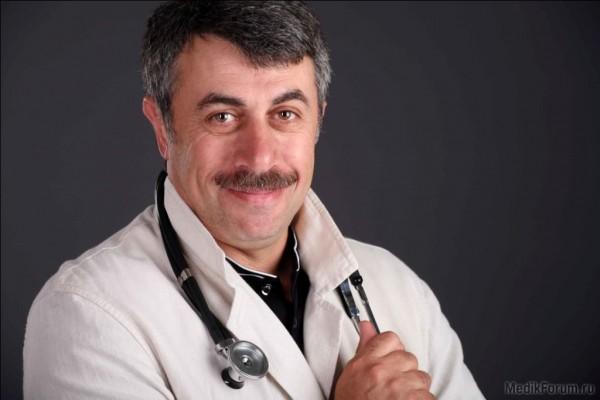 Доктор Комаровский обратился к родителям