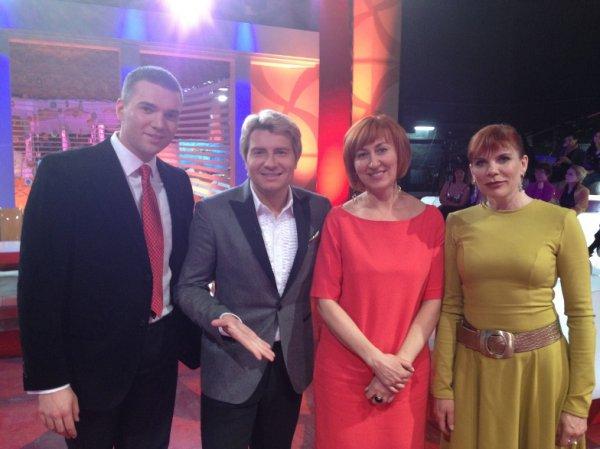 У Андрея Искорнева (крайний слева) не вышло найти свое счастье на проекте Баскова