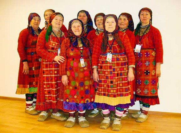 Бурановские бабушки представляли Россию на Евровидении 2012 года