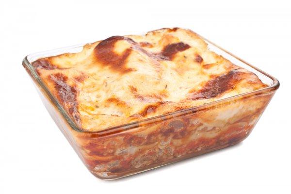Рецепт                  Картофельная запеканка с говяжьим фаршем и брокколи