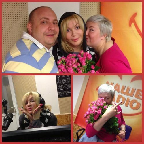 Ирина Билык на Нашем радио
