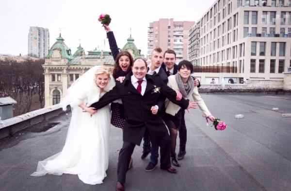 Юрий Ткач - фото со свадьбы
