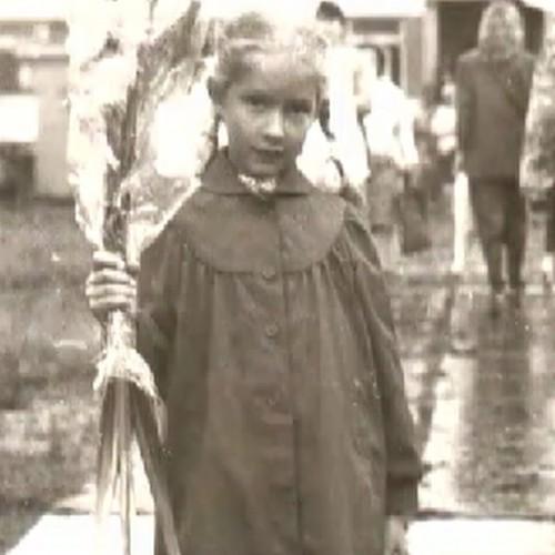 Катя Осадчая показала детскую фотографию