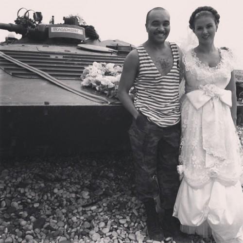 Анна Семенович показала фото в свадебном платье