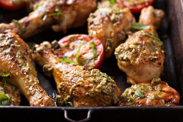 Рецепт из курицы на обед