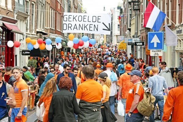 Оранжевая феерия в Голландии
