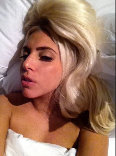 Lady GaGa перед сном