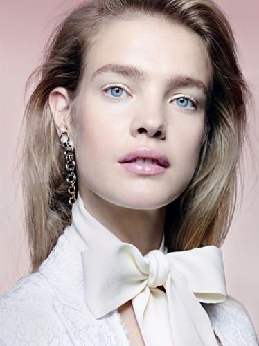 Наталья Водянова продемонстрировала beauty-тенденции зимнего макияжа