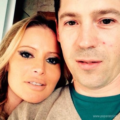 Дана Борисова со своим возлюбленным Андреем