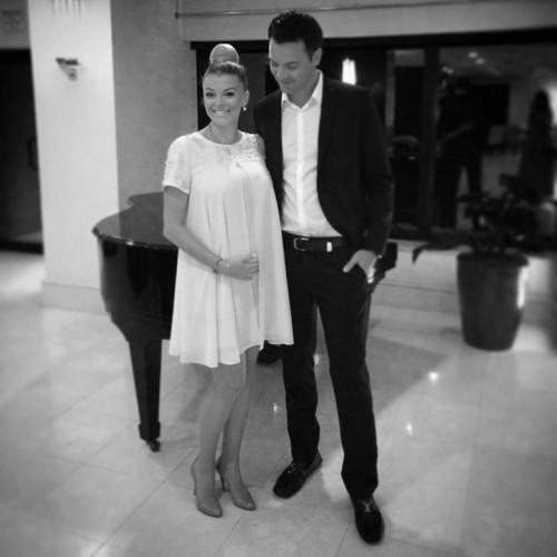 Ирина Блохина с мужем