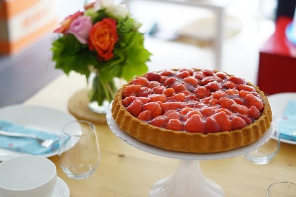 Вкус пирога будет ярче, если сочетать клубнику с другими ягодами и фруктами