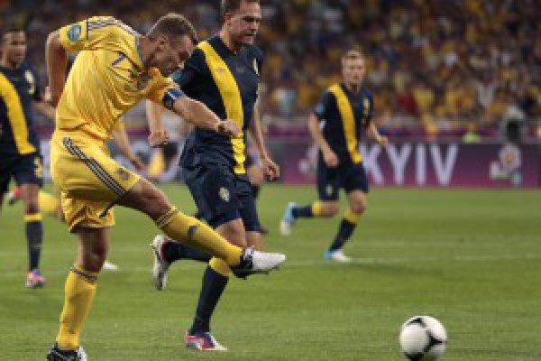 Андрей Шевченко атакует