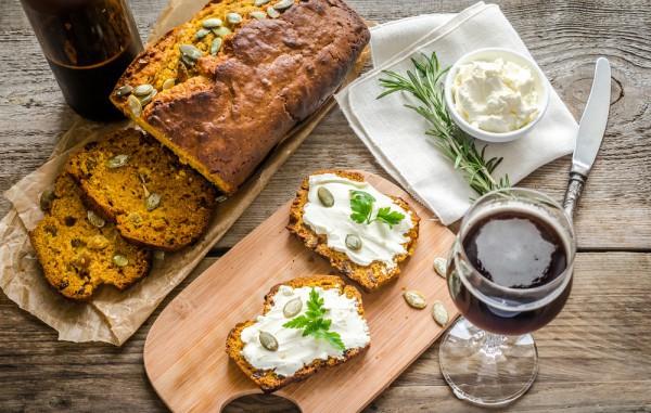 Хліб з гарбузом