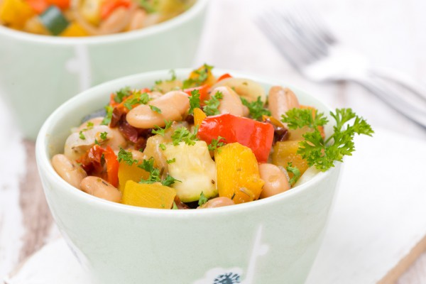 Из фасоли можно приготовить много вкусных постных блюд