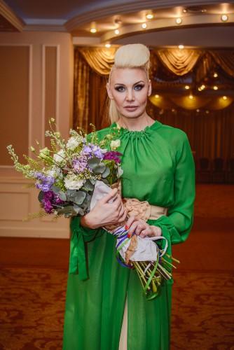 Телеведущая Светлана Вольнова посетила премьеру фильма Принцесса Монако